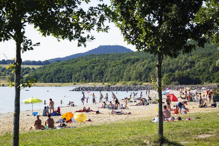 Sommer, Sonne, Stadt und See