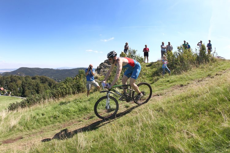 Mountainbiken im Naturpark Zittauer Gebirge Wolfgang Wittchen