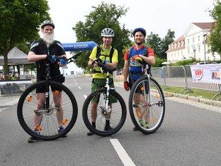 Seenland 100 Einradfahrer