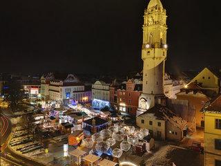 Bautzener Wenzelsmarkt mit Reichenturm