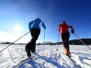 Langlauf im Zittauer Gebirge