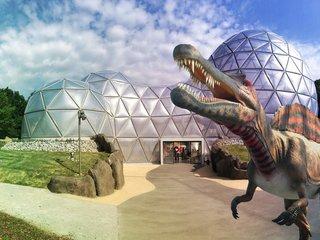 Mitoseum mit Spinosaurus