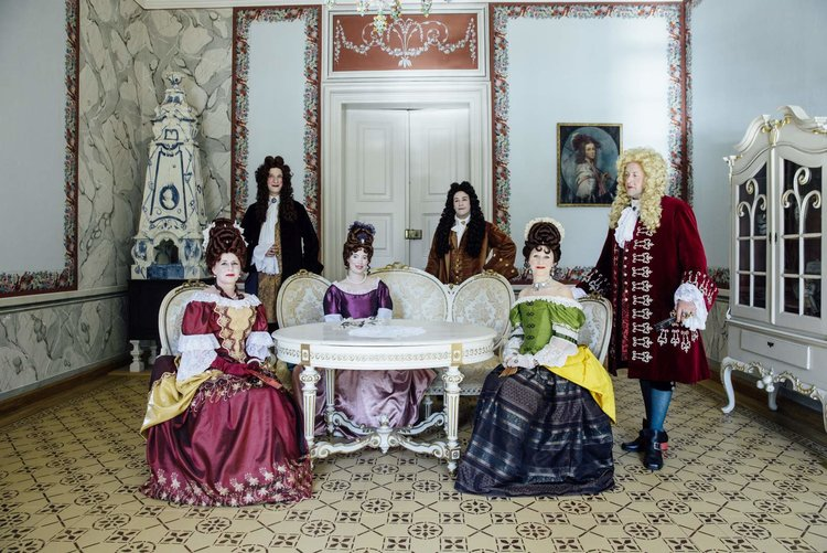 Verkleidet im Barockschloss Rammenau Olliver Killig