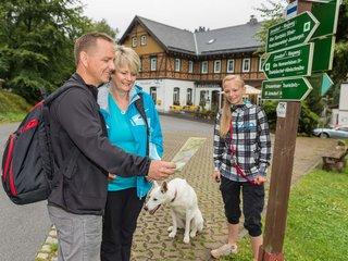Wanderer in Jonsdorf