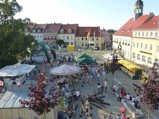 Marktreiben zum Heimatfest Elstra