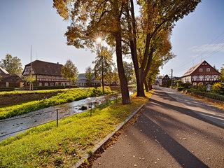 Umgebindehäuser in Großschönau