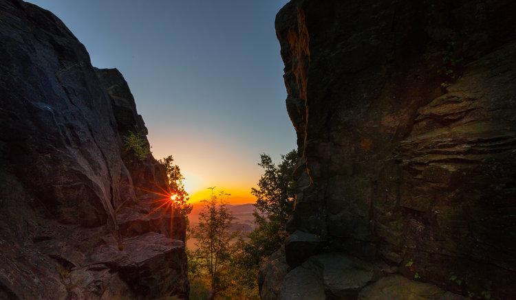 Sonnenaufgang im Zittauer Gebirge Markus Balkow