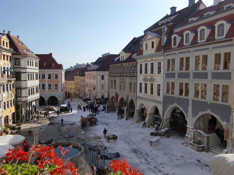 Filmdreh Goethe Stadt Goerlitz