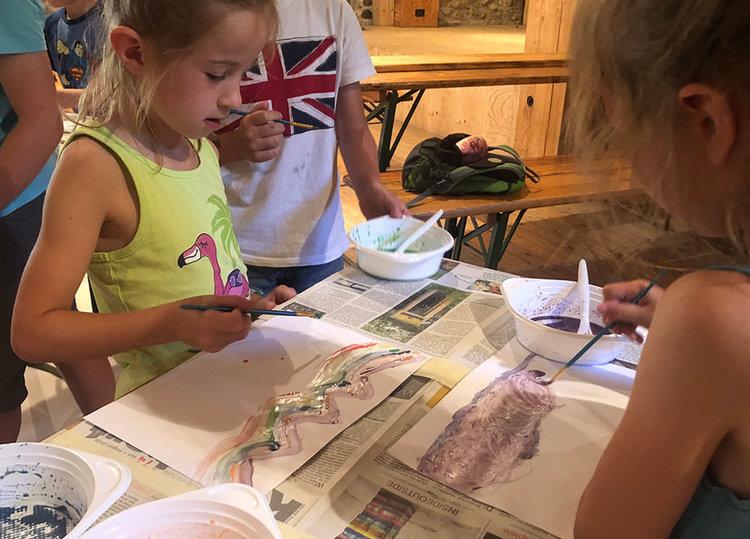 Arbeiten wie ein Künstler im Schloss Königshain