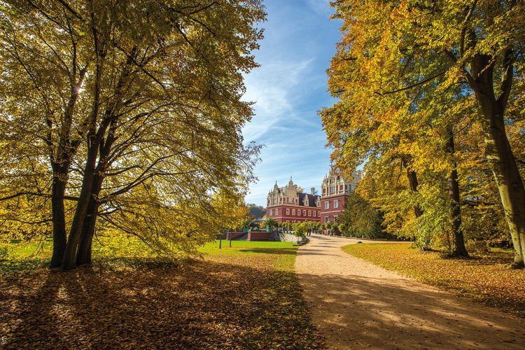 Auffahrt zum neuen Schloss Rene Egmont Pech