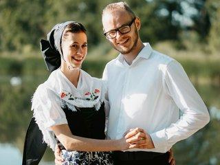 Sorbisches Paar