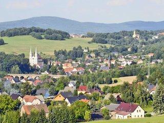 Blick auf Schirgiswalde Bergland