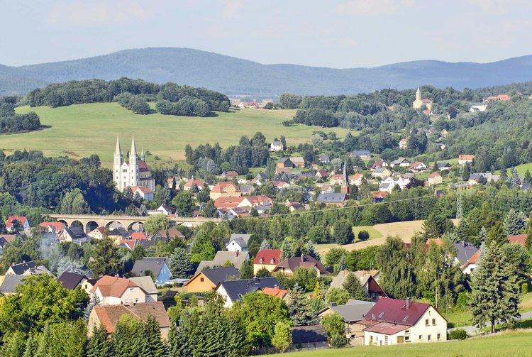 Blick auf Schirgiswalde Bergland Uwe Schwarz TGG OLB
