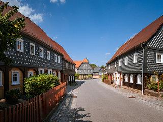 Umgebindehaeuser in Obercunnersdorf