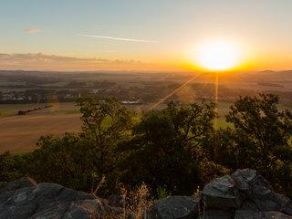 Sonnenaufgang im Zittauer Gebirge