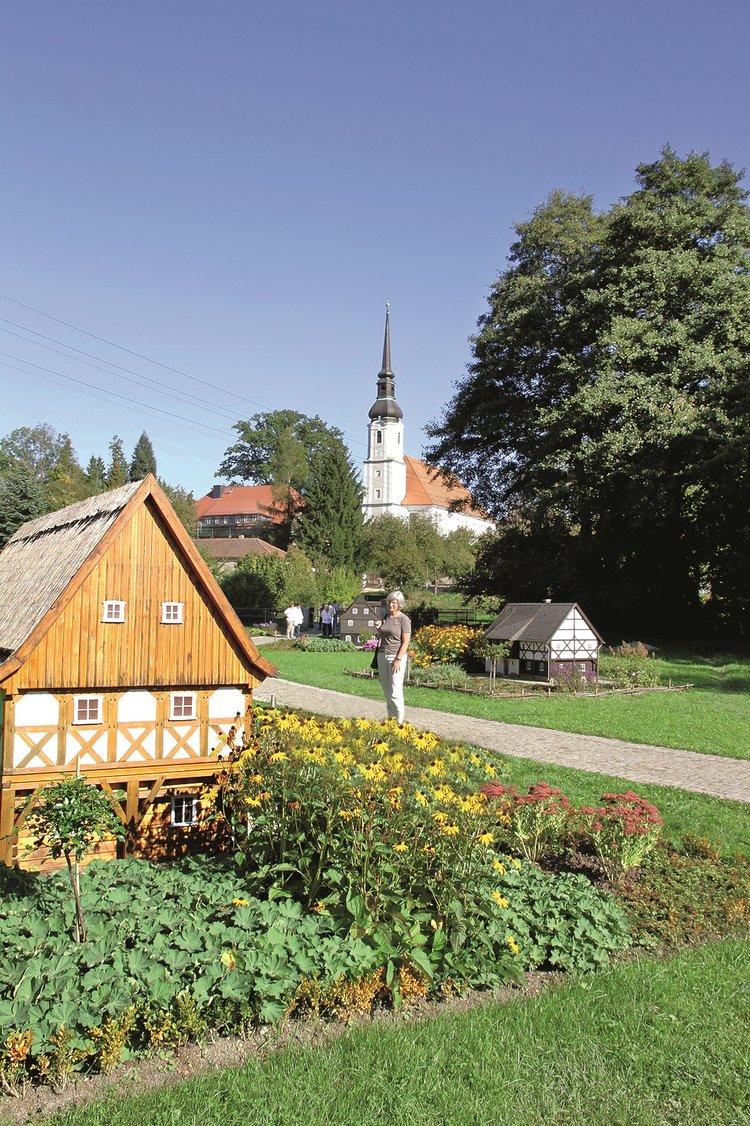 Rundwanderweg Cunewalde zu den Kälbersteinen