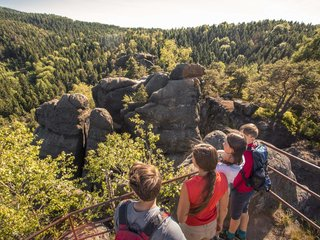 Wandern auf dem Oberlausitzer Bergweg