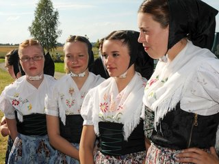 Sorbisch katholische Tracht