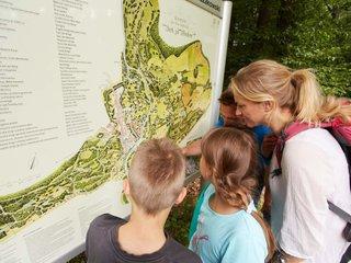 Unterwegs im Fuerst Pueckler Park