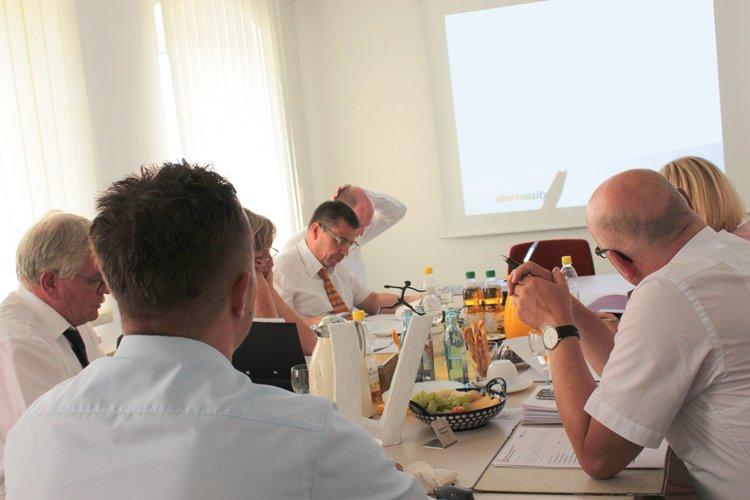 Oberlausitzer Unternehmerpreis Jurysitzung MGO
