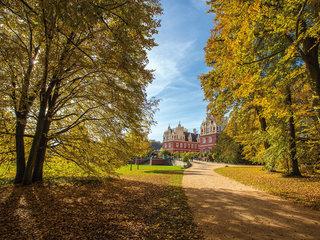 Auffahrt zum Schloss