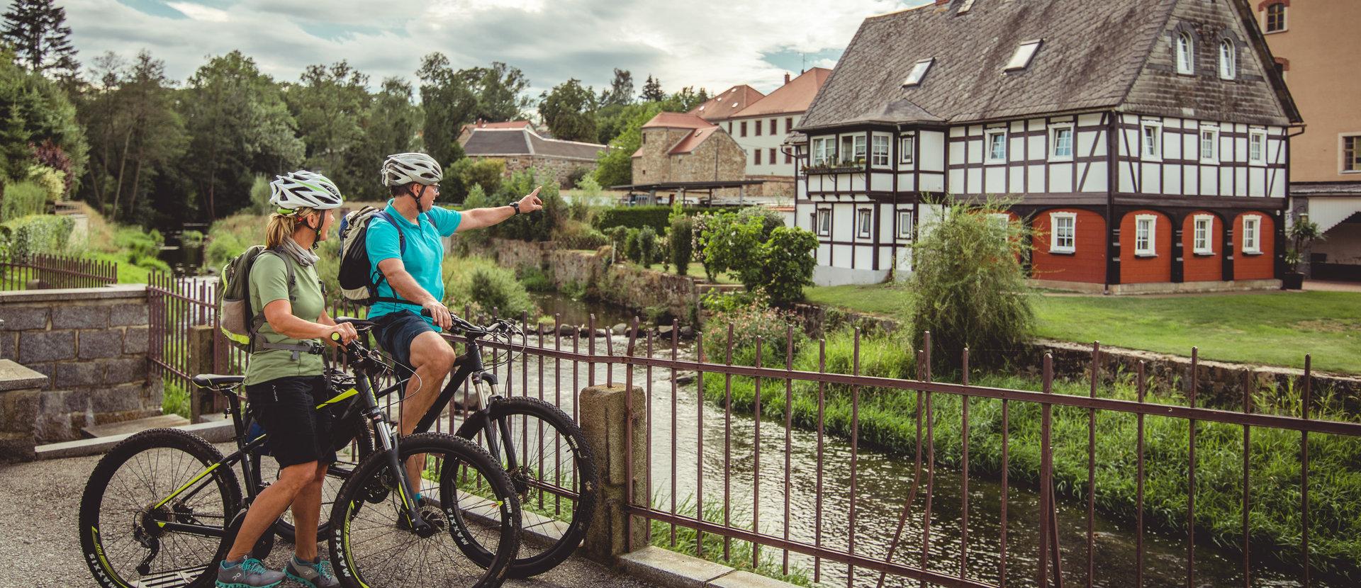 Cyklistický region Horní Lužice Větší rozmanitost není možná