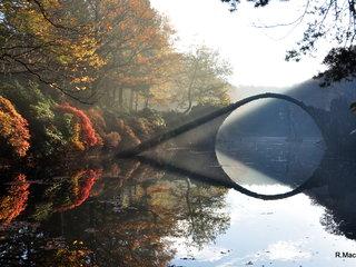 Kromlau im Herbst
