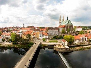 Blick auf Goerlitz Altstadtbruecke