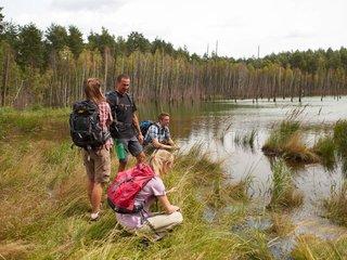 Im Geopark Muskauer Faltenbogen