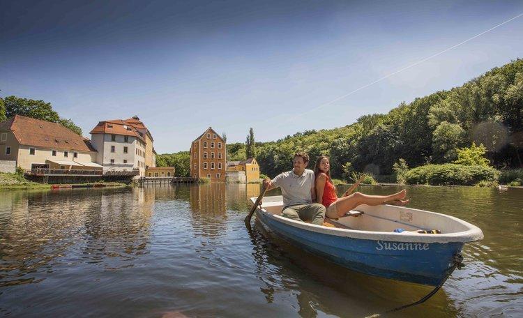 Rodinný výlet na vinici Görlitz