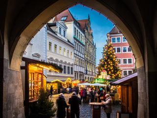 Weihnachtsmarkt Goerlitz Weihnachtsbaum