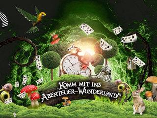 Komm mit ins Abenteuer-Wunderland!
