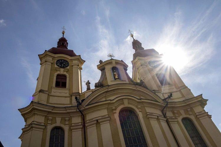 Kirche Haindorf Petr Birna