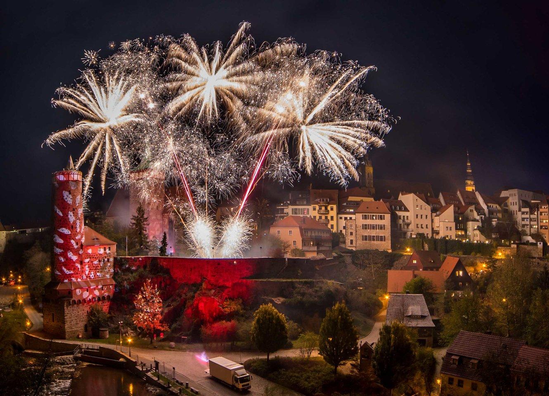 Bautzen Romantica 2017 Feuerwerk header Matthias Ludwig