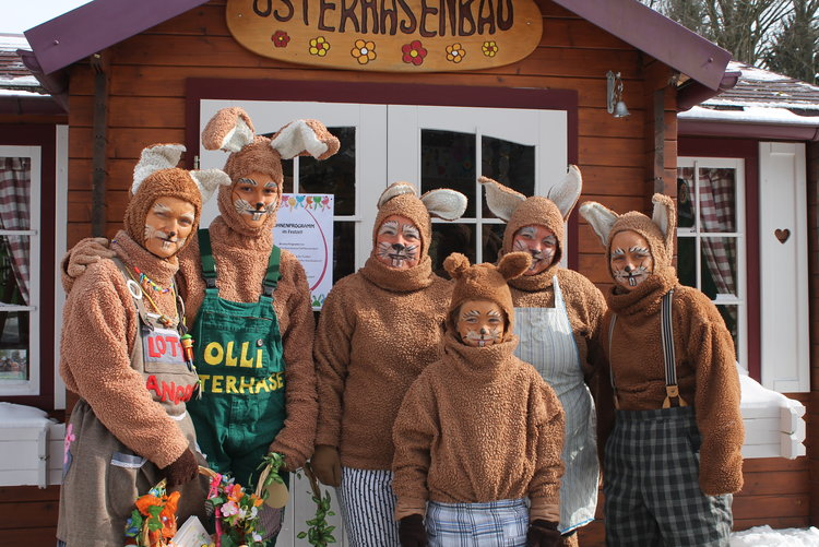Osterhasenwerkstatt KiEZ Querxenland