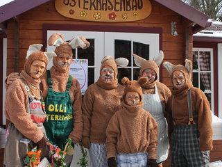 Osterhasenwerkstatt