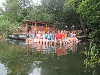 Dobrodružný tábor Deutschbaselitz mit s celodenním výletním pádlováním
