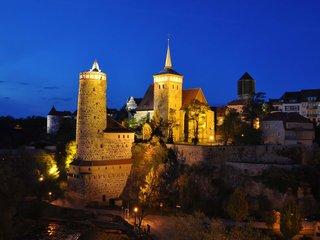 Bautzen Altstadt Nacht