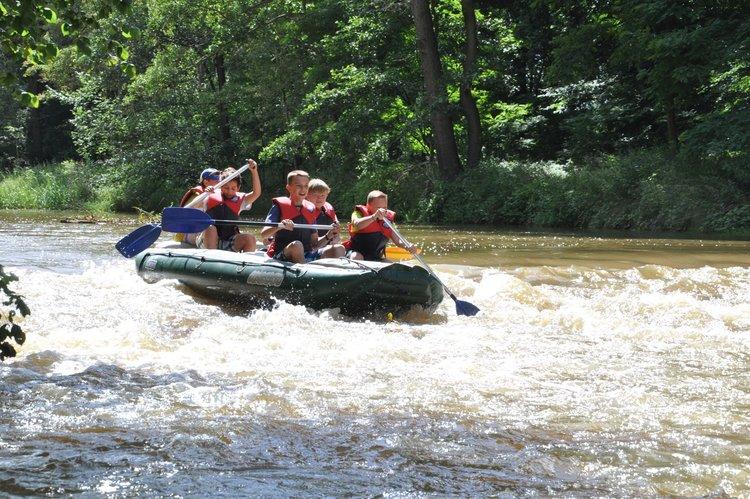 Klassenfahrt ins Abenteuercamp Deutschbaselitz