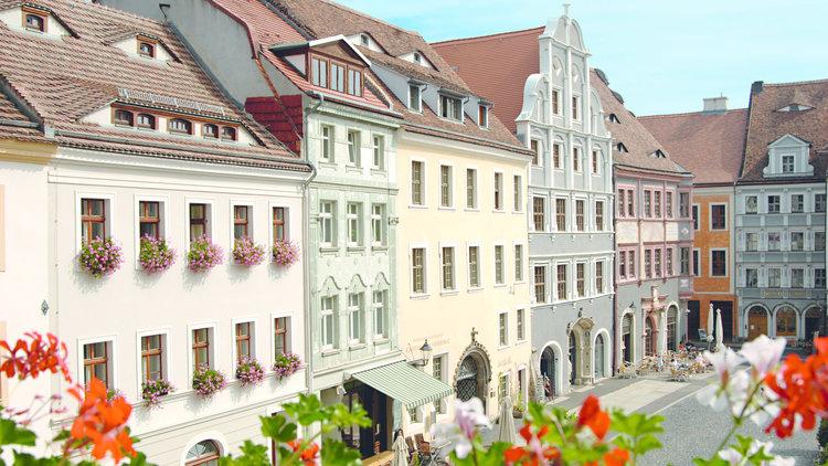 Untermarkt Fassade Sommer Sabine Wenzel