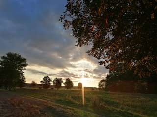 Abendsonne Herbst