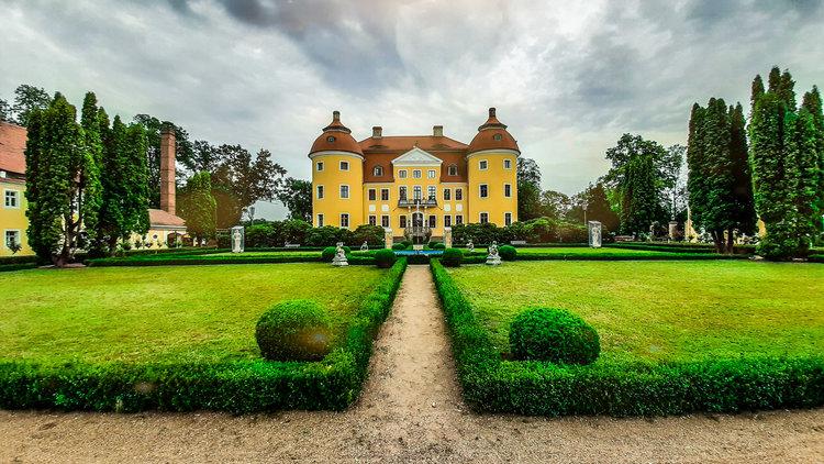 Schloss und Park Milkel Hermann Fuchs