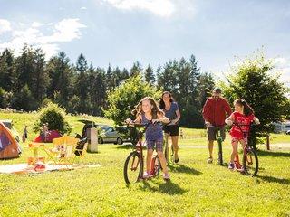 Camping im Trixi Ferienpark