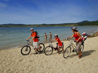 Radtour um den Berzdorfer See