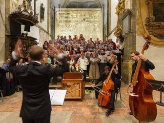 Konzert am Grossen Zittauer Fastentuch