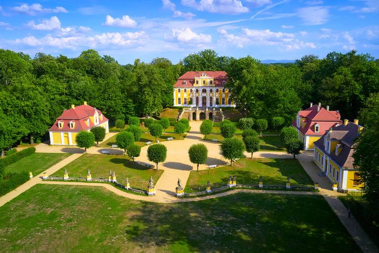 """""""Rendezvous im Garten"""" Schloss Neschwitz"""