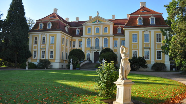 Herbststimmung Barockschloss Rammenau
