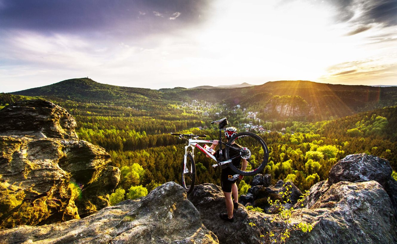 Mountainbike Zittauer Gebirge Philipp Herfort
