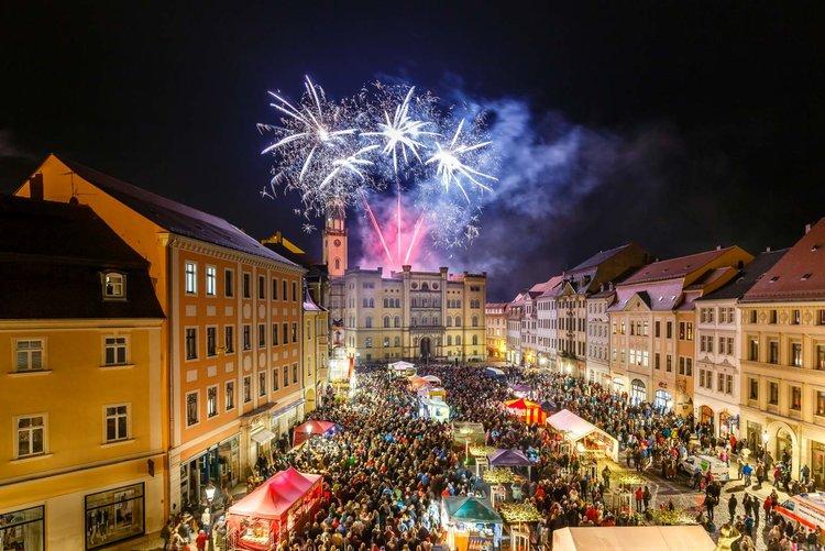 Spectaculum Feuerwerk Thomas Glaubitz Stadt Zittau