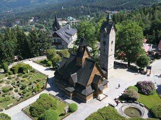 Karpacz Krummhuebel Stabkirche Wang
